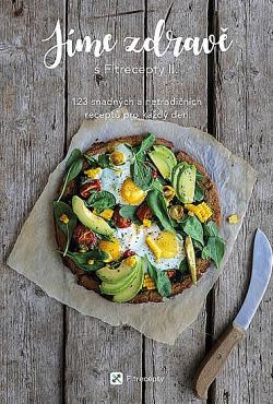 Jíme zdravě s Fitrecepty II. obálka knihy