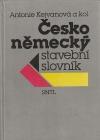 Česko-německý stavební slovník