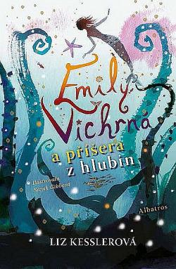 Emily Vichrná a příšera z hlubin obálka knihy