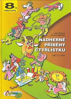 Nádherné příběhy Čtyřlístku - 1987-1989 obálka knihy