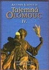 Tajemná Olomouc IV. obálka knihy