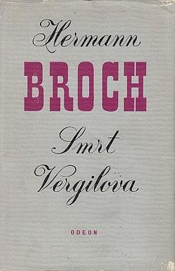 Smrt Vergilova obálka knihy