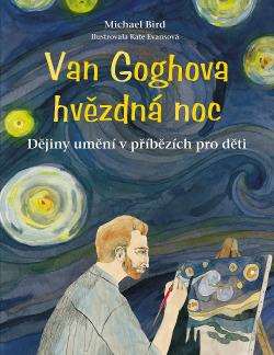 Van Goghova hvězdná noc obálka knihy