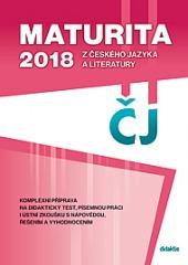 Maturita 2018 z českého jazyka obálka knihy