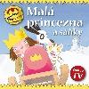 Malá princezna a sáňky