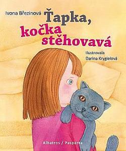 Ťapka, kočka stěhovavá obálka knihy