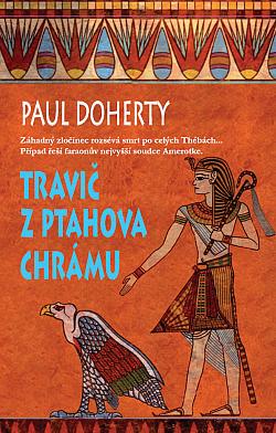 Travič z Ptahova chrámu obálka knihy