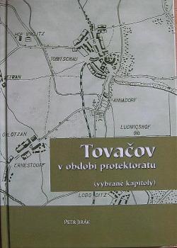 Tovačov v období protektorátu obálka knihy