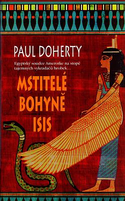 Mstitelé bohyně Isis obálka knihy