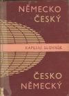 Německo-český - česko-německý kapesní slovník
