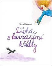 Dívka s havraními křídly obálka knihy