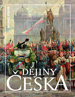 Dějiny Česka obálka knihy