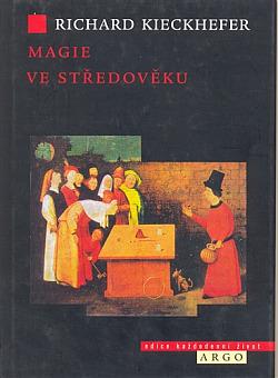 Magie ve středověku obálka knihy
