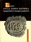 Listy Pavla Jozefa Šafárika Martinovi Hamuljakovi