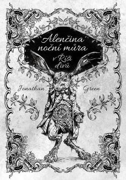 Alenčina noční můra v Říši divů obálka knihy