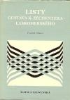 Listy Gustáva K. Zechentera-Laskomerského