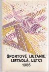 Športové lietanie, lietadlá, letci 1985
