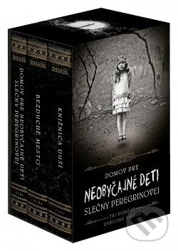 Neobyčajné deti slečny Peregrinovej 1–3 (box) obálka knihy