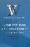 Manifesty, eseje a kritické projevy z let 1931-1941
