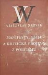 Manifesty, eseje a kritické projevy z poetismu (1921–1930)