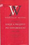 Eseje a projevy po osvobození (1945-1958)