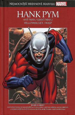 Hank Pym: Ant-Man / Giant-Man / Yellowjacket / Wasp obálka knihy