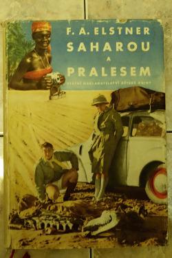 Saharou a pralesem obálka knihy