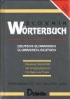 Wörterbuch,nemecko-slovenský slovensko-nemecký slovník