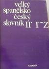 Velký španělsko-český slovník II. díl