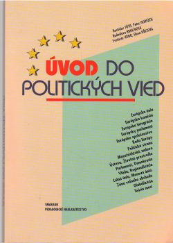 Úvod do politických vied obálka knihy