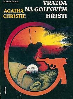 Vražda na golfovém hřišti obálka knihy