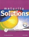 Maturita Solutions Intermediate Student
