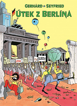 Útek z Berlína obálka knihy
