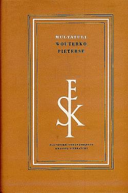 Wouterko Pieterse obálka knihy