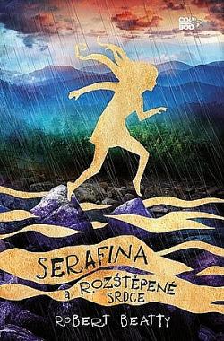 Serafina a rozštěpené srdce obálka knihy