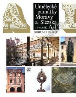 Umělecké památky Moravy a Slezska, Díl 1. A-I obálka knihy