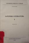 Japonská literatura I.