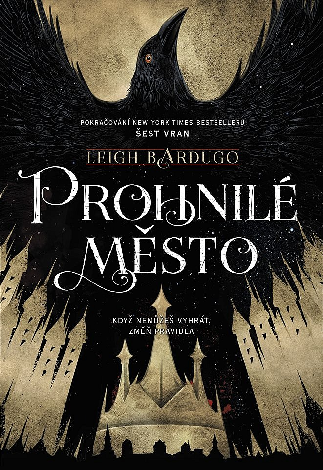 Kniha Prohnilé město (Leigh Bardugo)