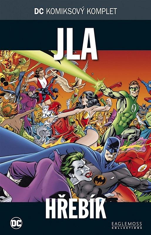 e4a4309aadd DC komiksový komplet  JLA  Hřebík - Alan Davis
