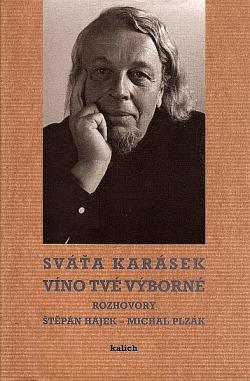 Víno tvé výborné obálka knihy