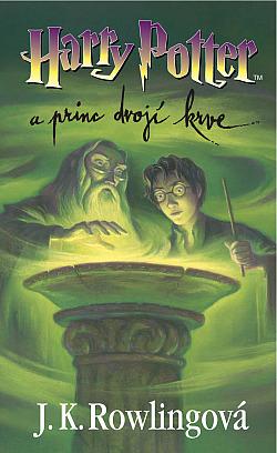 Harry Potter a Princ dvojí krve obálka knihy