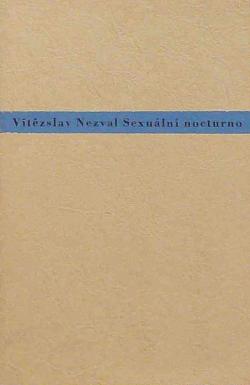 Sexuální nocturno obálka knihy