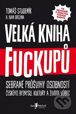 Velká kniha fuckupů obálka knihy