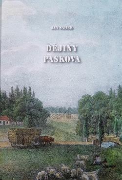 Dějiny Paskova obálka knihy
