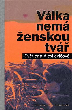 Válka nemá ženskou tvář obálka knihy
