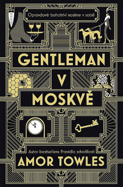 Gentleman v Moskvě obálka knihy