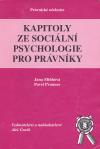 Kapitoly ze sociální psychologie pro právníky