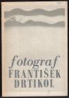Fotograf František Drtikol (tvorba z let 1903-35)