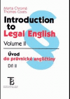 Introduction to Legal English - Volume II