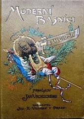 Moderní básníci francouzští obálka knihy